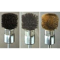 Stainless Steel Brush with Shaft (6mm) EA819BK-20S