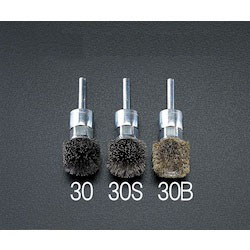 [Steel] Wire Brush with Shaft (6mm Shaft) EA819BK-30