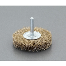 Flat Type Wire Brush with Shaft (6mm Shaft) EA819BM-1