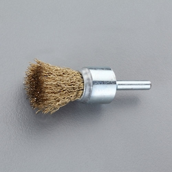 End type Wire Brush with Shaft (6mm Shaft) EA819BM-108