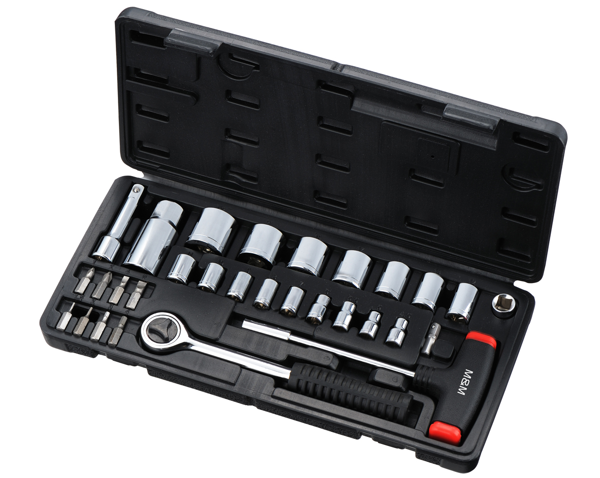 Socket Wrench Set 30 pcs S-200