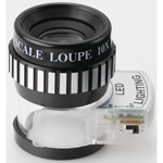 Light Scale Loupe (with LED Light)