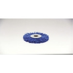 Grit Press Wheel Brush, with Abrasive Grain #180