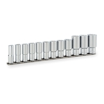 Deep Socket Set (Double Hex with Holder) HDL312A