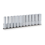 Deep Socket Set (Double Hex with Holder) HDL412