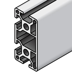 Aluminum Extrusions 8-45 Series (45x90) One 90 mm Side Flat
