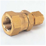 Quick Seal Series - Insert Less Type - Swivel Nut Female Connector