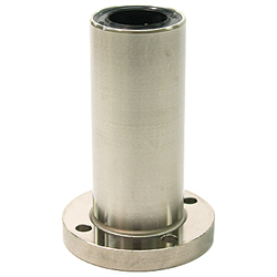 Flanged Linear Bushings, LFDM-Shaped (ECO Series), Double Round-Shaped Flange