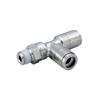 for Sputtering Resistance, Tube Fitting Brass, Branch Tee