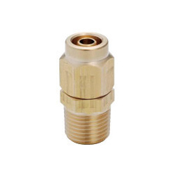 Brass Tightening Fitting - Straight - for Sputtering Resistance
