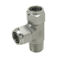 Corrosion Resistant SUS316 Tighten Fitting Branch Tee
