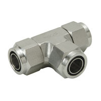 for Corrosion Resistance, SUS316 Tightened Fitting, Union Tee