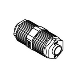 Union LQ1U Inch Size Fluoropolymer Fittings / Hyper Fittings