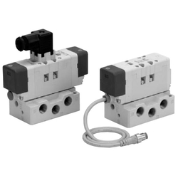 ISO Standard Solenoid Valve VQ7-6 Series Size 1 Single Unit