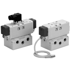 ISO Standard Solenoid Valve VQ7-8 Series Size 2 Single Unit