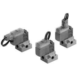 3-Port Solenoid Valve, Direct Operated, Rubber Seal, V100 Series