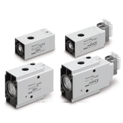 3-Port 3-Position Valve VEX3 Series (Air Operated / Pilot Solenoid)