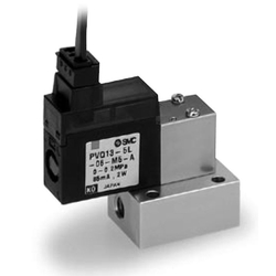 Compact Proportional Solenoid Valve PVQ10 Series (12 V DC / 24 V DC)