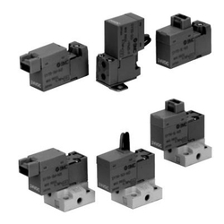 3-Port Solenoid Valve, Direct Operated, Rubber Seal, SY100 Series