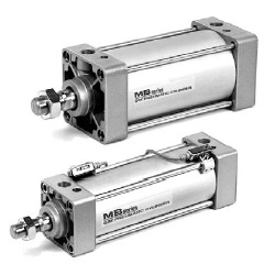 MB□Q Series Air Cylinder, Low Friction Type