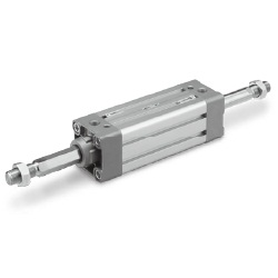 MB1K Series Square-Tube Type Air Cylinder, Non-Rotating Rod Type, Double Acting, Single Rod