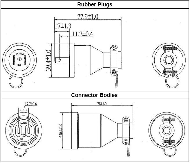 Waterproof Rubber Plug / Body:Related Image
