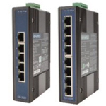 5/8-Port Industrial Grade Ethernet Switch (With Surge Protection)