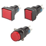 Push Button Switch (Illuminated ⌀16) [C1S02-R12K]