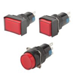 Push Button Switch (Non-Illuminated ⌀16) [C1S02-R120]