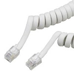 RJ11-related receiver cord for TEL