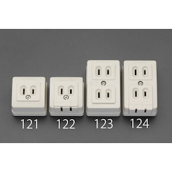 Square type socket-outlet EA940CG-124