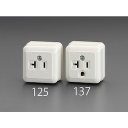 Square type socket-outlet EA940CG-125