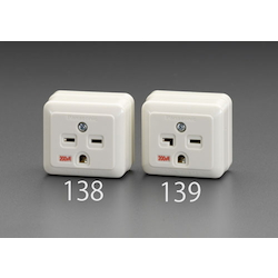 Square type socket-outlet(250V) EA940CG-139