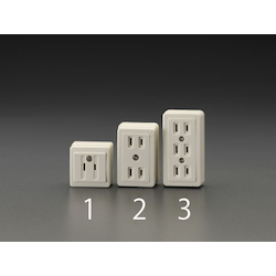 Square type socket-outlet EA940CH-1