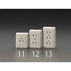 Thin square type socket-outlet EA940CH-12