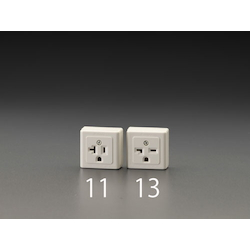 Square type socket-outlet with grounding EA940CJ-11