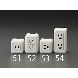 Square type socket-outlet EA940CJ-51