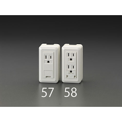 Square type socket-outlet EA940CJ-58