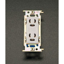 Double Socket-Outlet [with Safety Lock , Grounding] EA940CM-6