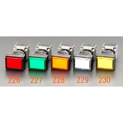LED Illuminated Square Type Push Button Switch EA940D-228