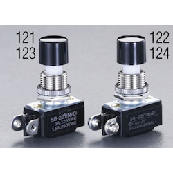 Small push button switch EA940DA-123