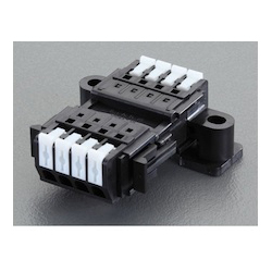 Screwless Terminal Block for Relaying