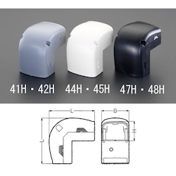 Joint [Inner Bend] [for Cable Cover Duct] EA947HM-45H