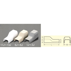 [Plastic] Cable Cover Joint [Corner] EA947HM-7J