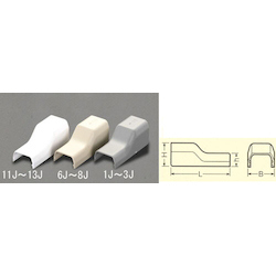 [Plastic] Cable Cover Joint [Corner] EA947HM-8J