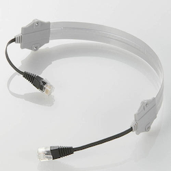 [For Gap]Flat LAN Cable(Category5e compliance) EA764BF-200
