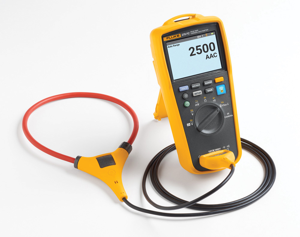 True Effective Value Thermographic Multi-Meter