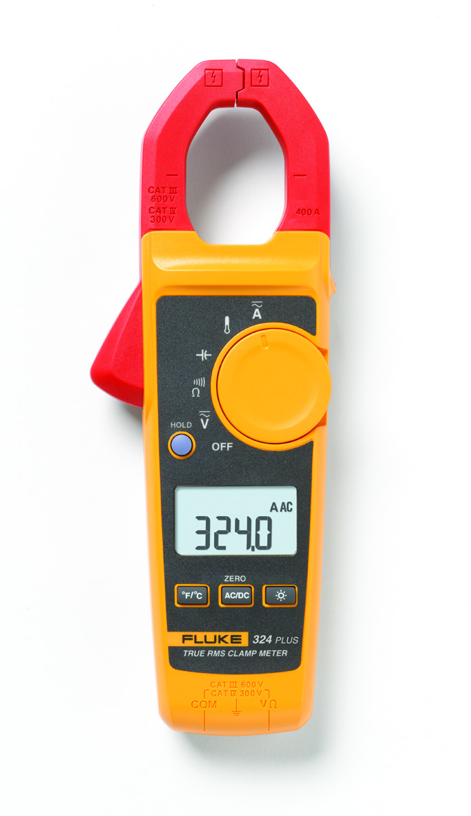 True Effective Value Clamp Meter for Heating, Ventilzation and Air Conditioning Systems