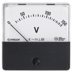 Gauge for Panel, AC Voltmeter (Moving Iron)
