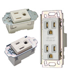 ML Grounded Outlet, ML Pull-Out Grounded Outlet